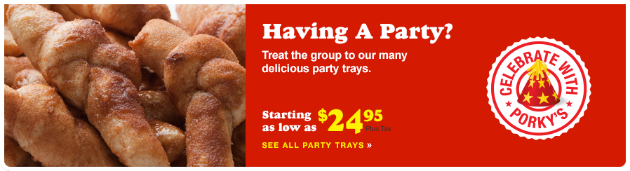 Treat the group to our many delicious party trays.